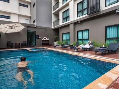 Chiang Mai Cmor Boutique Hotel Piscine