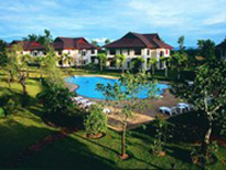 Teak garden spa resort
